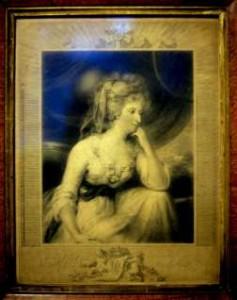 Mrs Fitzherbert, Engraved by Joseph Collyer