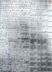 Marriage Entry - Joseph & Mary Mitchell Collyer