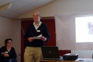 Geoff Culshaw speaking at Bankes Reunion 2011