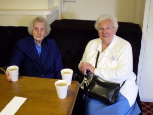 Mary Fletcher & Emma Cootes - Bankes Reunion 18 June 2011